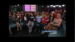 The Degrassi cast - Shanice (Marisol), Daniel (Owen), Craig (Luke),...