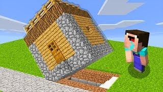 СЕКРЕТНАЯ БАЗА в ДЕРЕВНЕ ЖИТЕЛЕЙ В Майнкрафте! Minecraft Мультики Майнкрафт троллинг Нуб и Про