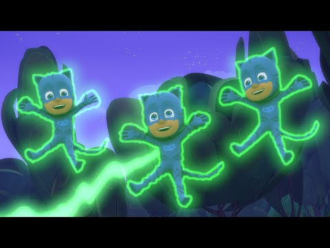 PJ Masks Full Episodes - CATBOY SQUARED! 2.5 HOUR Compilation  - Cartoons for Children