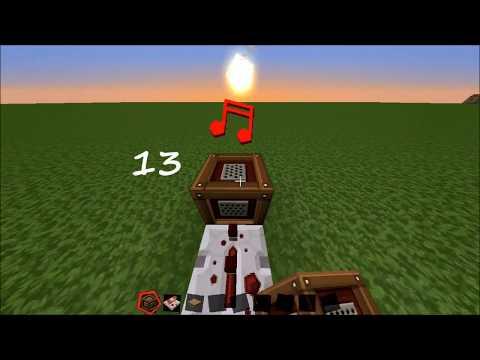 Minecraft Musik mit Notenblöcken: Star Wars und Allgemeinwissen