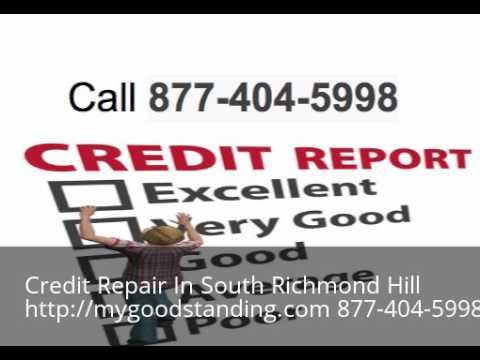 Credit Repair South Richmond Hill