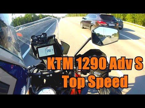 KTM 1290 Super Adventure S Top speed