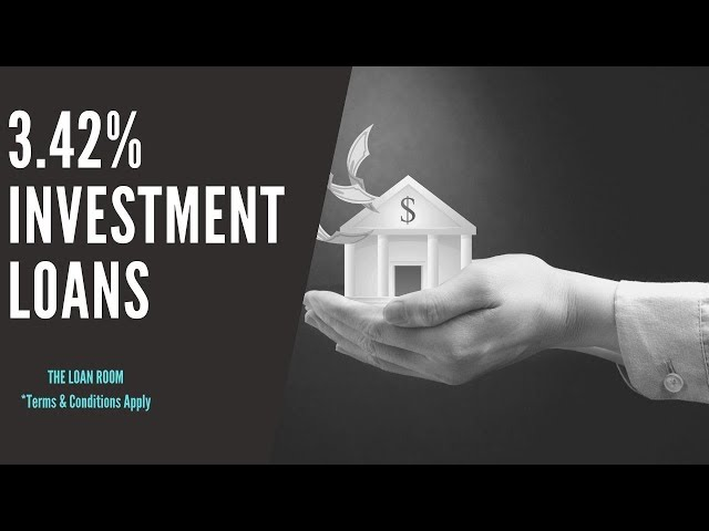 3.42% Investment Property Loans Australia