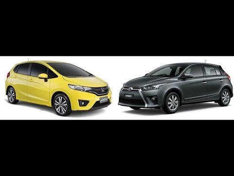 Toyota Yaris Trd Vs Honda Jazz Rs Filter Oli Grand New Avanza Head 2 2015 Youtube