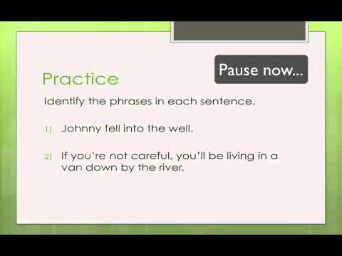 Grammatical Phrases