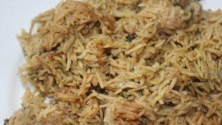 Kuska / Madurai Kuska - South Indian Biryani