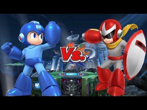SSBWiiU Battles: Mega Man Vs Proto Man