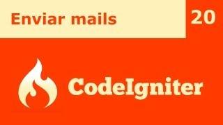 CodeIgniter 20 - Enviar mails