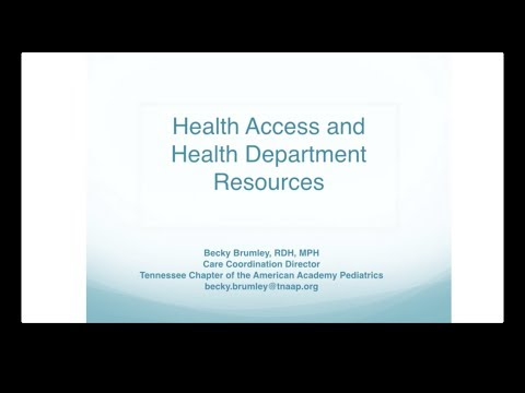 Health Access and Health Department Resources