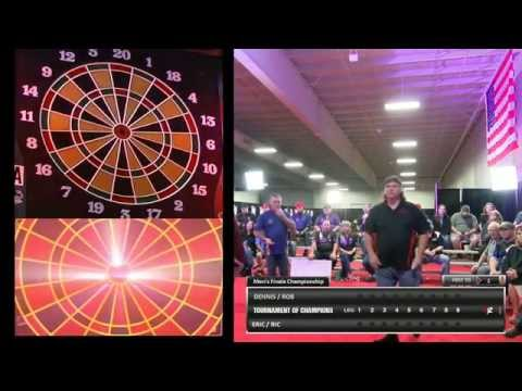 $40,000 Darts Tournament of Champions Men's Finale October 21st, 2015