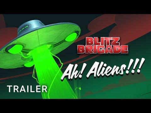 Alien Invasion! - Update 22 Trailer - Blitz Brigade