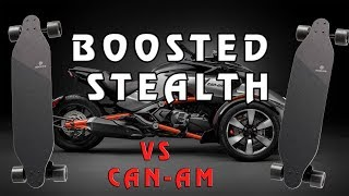 BOOSTED BOARD STEALTH VS CAN AM