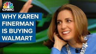 Why Karen Finerman's buying Walmart