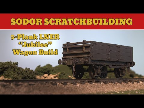 Parkside PS01: 5 Plank Wagon Build | 7mm (0-Gauge) | Sodor Scratchbuilding