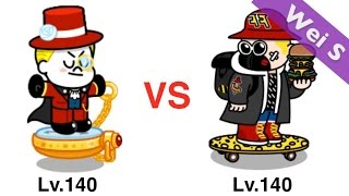 【Wei S】 Time Traveler James vs Super Skater Junko 時光旅人詹姆士vs超級滑板狂人  (LINE Rangers)