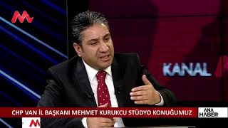 Mehmet KURUKCU  Kanal M deki canlı yayın programı