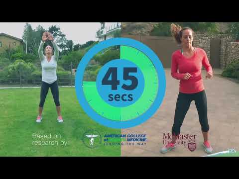 Fast Workout At Home | One Minute Workout -All You Need Is One Minute