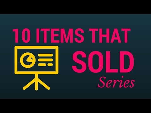 10 ITEMS THAT I SOLD - MY EBAY SELLING, AMAZON SELLER, CRAIGSLIST, BOOTH