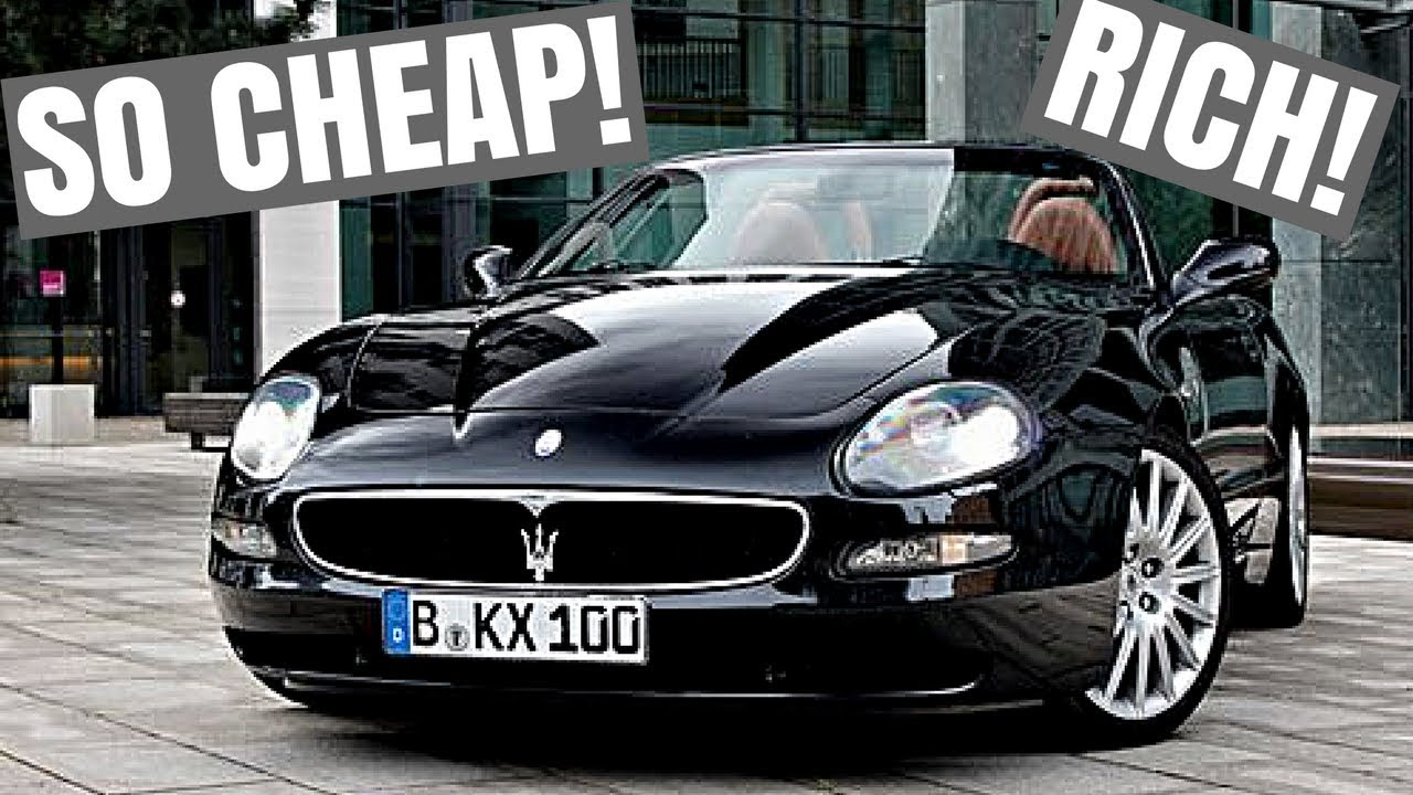 5 Cheap Cars That Make You Look Rich! $10k-$25k - YouTube