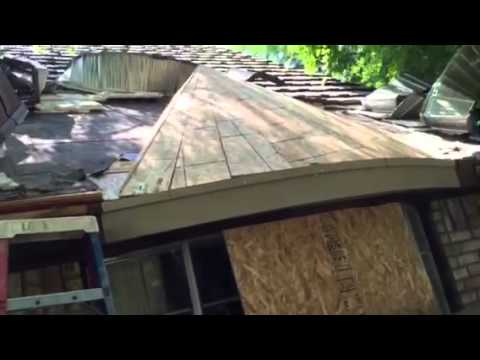 Bay / Bow Window Roof Design Construction
