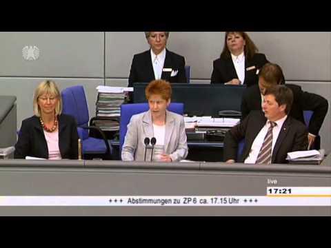 Aggressionen im Bundestag: Erzwungener Hammelsprung gegen de Maizière (+ Zwischenrufe)