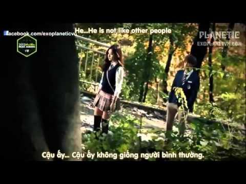 Vietsub + Engsub 131114 EXO VCR + Wolf + Growl exo