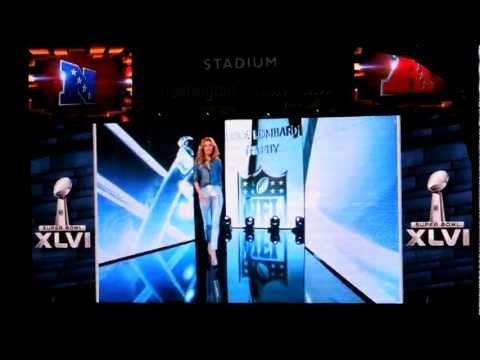 Super Bowl XLVI Team Entrances