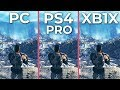 Fallout 76 – PC 4K Ultra vs. PS4 Pro vs. Xbox One X Graphics Comparison