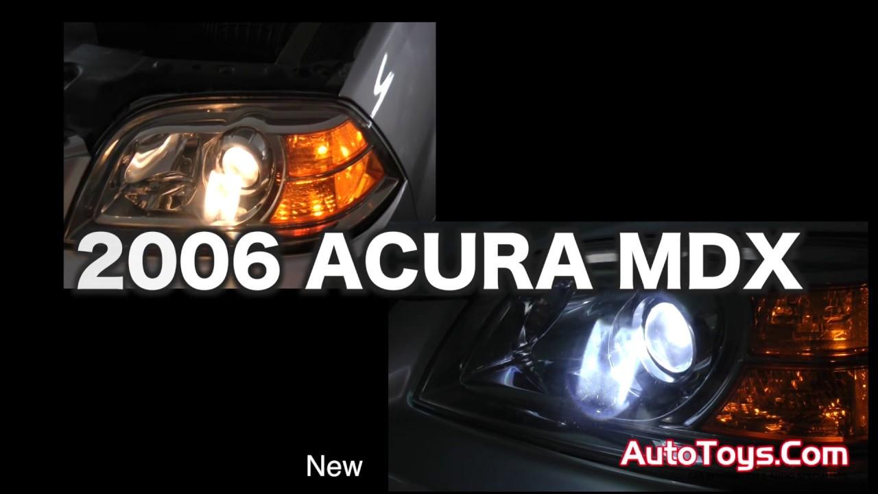 acura mdx hid lights can bus youtube rh youtube com 2009 Acura MDX 2009 Acura MDX
