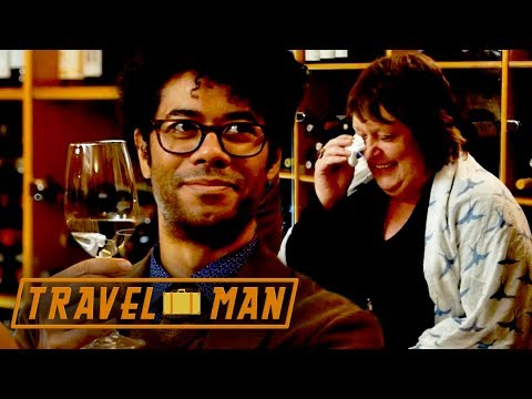 Richard Ayoade Has Kathy Burke CRYING With Laughter During a Cava Tasting | 48hrs in...Barcelona