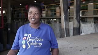 Reciclador Solidário - Lixo que gera emprego e renda