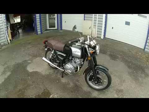 Moto Orcal Astor 125cc Vert Anglais A L Ombre