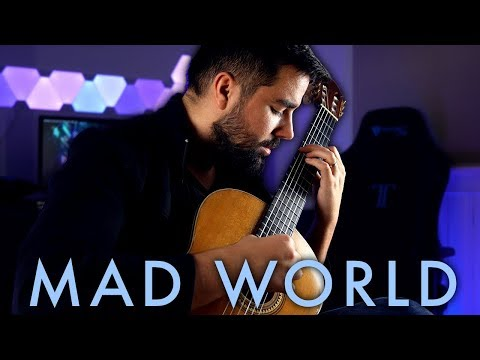 Mad World (Gary Jules) Classical Guitar Cover