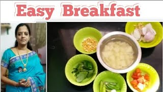 10 min's Easy Breakfast/ Working women's recipe/Quick breakfast recipe/Simple breakfast/aval upma