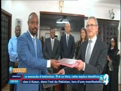 Télé Djibouti Chaine Youtube : JT Francais du 11/01/2018