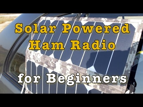 Solar Powered Ham Radio for Beginners