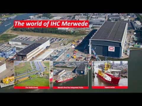IHC Merwede builds world's first fully integrated pipelaying support vessels