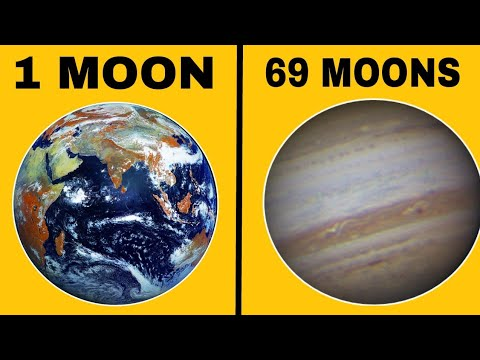 How many moons does each planets have | latest answer 2019 | - YouTube