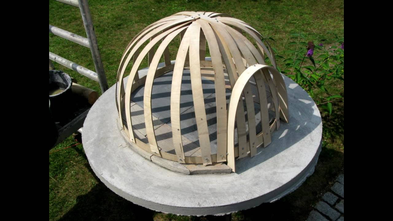 Building A Wooden Fired Pizza Oven Light Construction