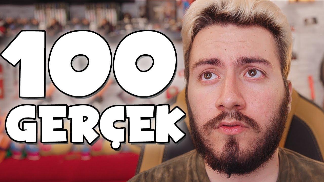 Hakkimda Bilinmeyen 100 Gerçek Enes Batur Youtube