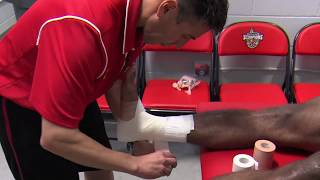 How to Tape Your Ankle for Soccer Tutorial