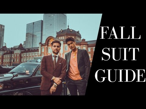 Fall Suiting Guide in Tokyo feat Carlos Roberto | Suited Lookbook