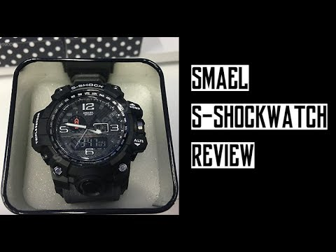 de3875c4416 SMAEL Sports S-Shock Watch - REVIEW - YouTube