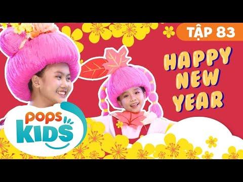 Mầm Chồi Lá Tập 83 - Happy New Year   Nhạc Tết Thiếu Nhi   Vietnamese Songs For Kids