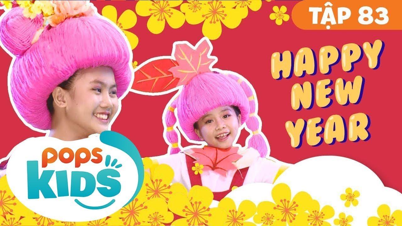 Mầm Chồi Lá Tập 83 - Happy New Year | Nhạc Tết Thiếu Nhi | Vietnamese Songs For Kids