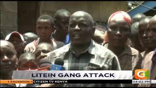 Litein gang attack  arrested