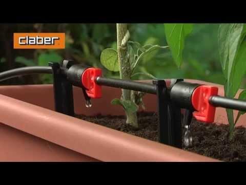 Impianto Di Microirrigazione Per Fiori Ed Ortaggi In Vaso
