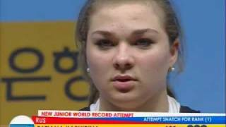 Weightlifting world championship  2009  Tatyana Kashirina