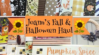 🌻Joann's Fall & Halloween Haul 🍁 {with NEW paper pad flip-throughs!}
