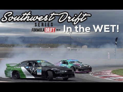 ProAm Drifting in the WET!